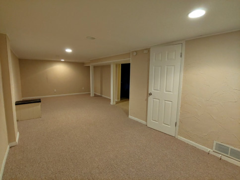 Finished  Basement Rec Room
